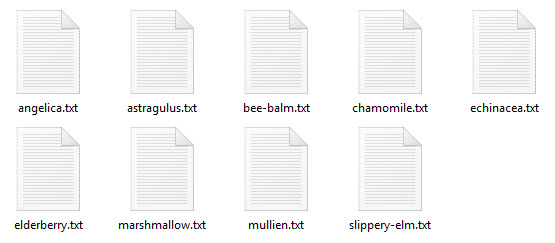text-files
