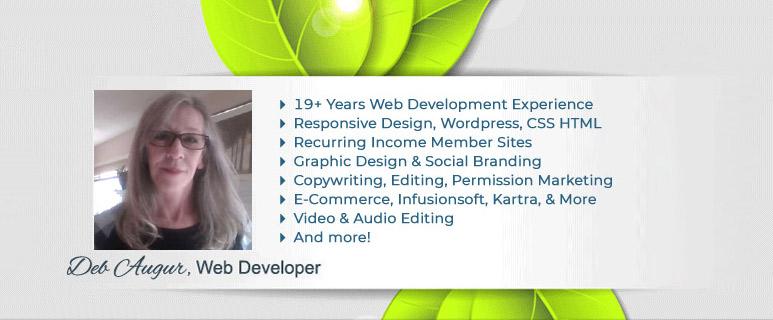 Deb Augur - Web Developer